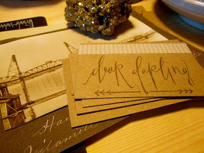 business cards by DEAR DARLING...