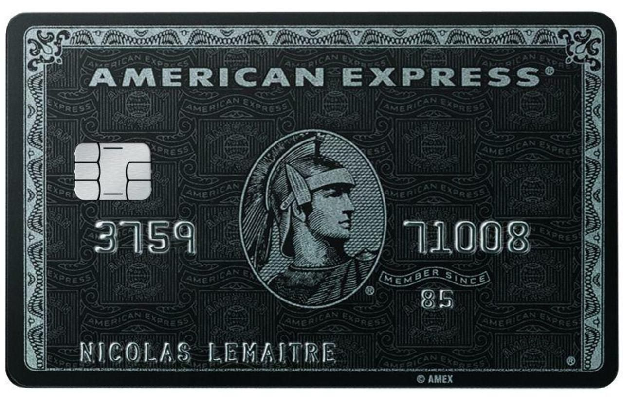 American Express Centurion American Express Black Card American Express Centurion Centurion