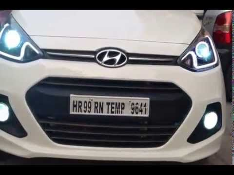 Hyundai Grand I10 Projectors With Drl Hyundai Projector