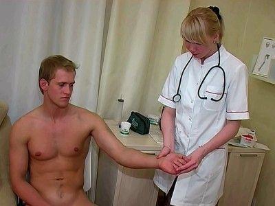 Erotic medical exam video