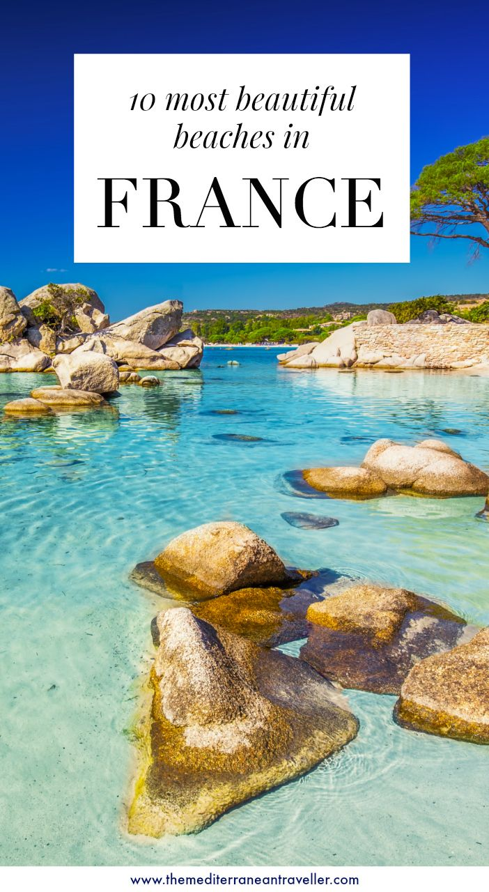 20 Most Beautiful Beaches in France   The Mediterranean Traveller ...