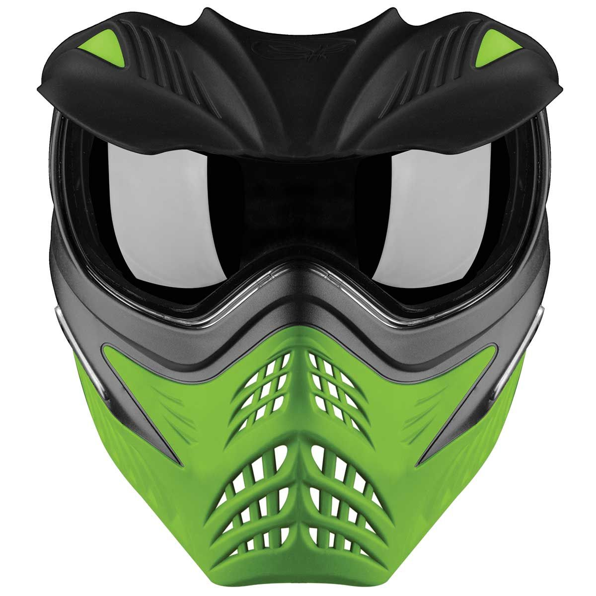 V Force Grill Paintball Mask Goggle Grey On Lime Green Paintball Mask Force Paintball Mask Paintball Lime Green