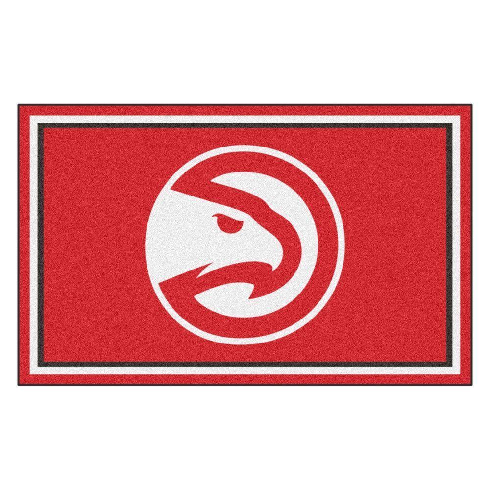 Atlanta Hawks Ultra Plush Area Rug