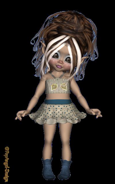 *Angie's Free Poser Tubes*: Tubes Kiki Flower 2