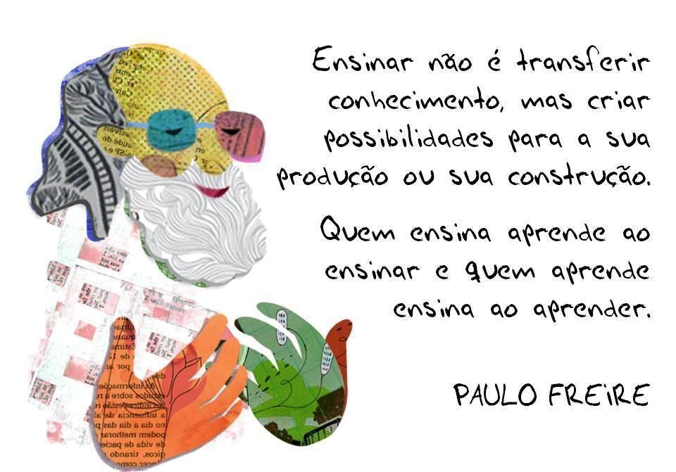 Populares Resultado de imagem para MENSAGEM DE PAULO FREIRE | Inclusão  QR83