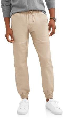 buy low priced harmonious colors PHAT FARM Big Men's Twill Jogger | Mens Big And Tall Pants