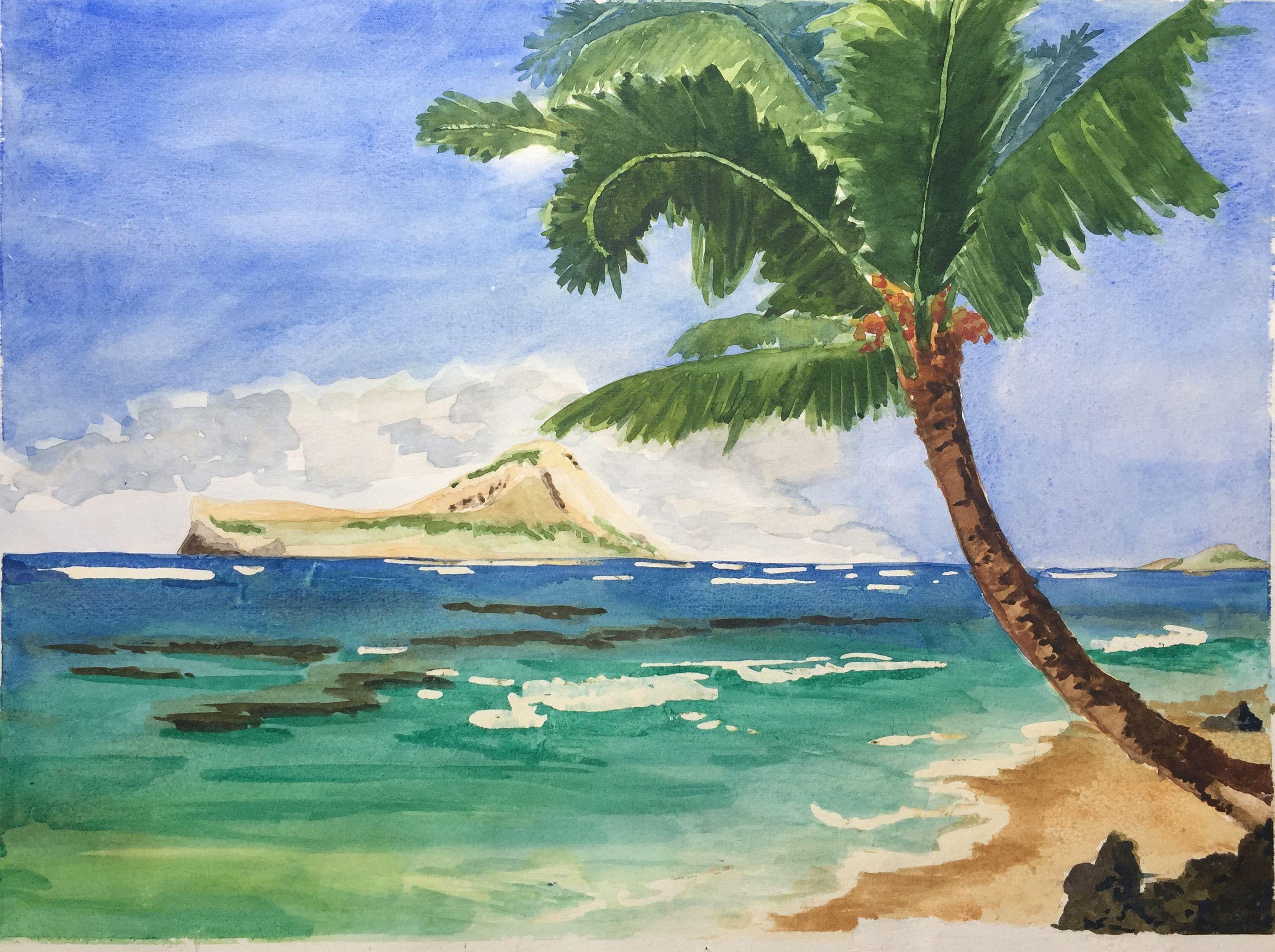 Landscape Ocean Hawaii