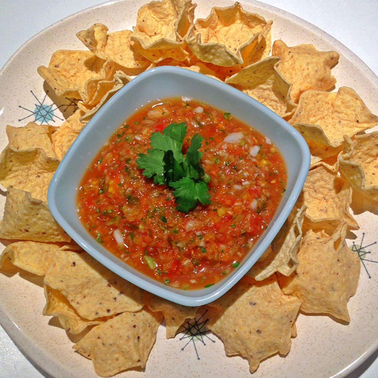 Happy Cinco de Mayo. Let's have some chips 'n salsa!