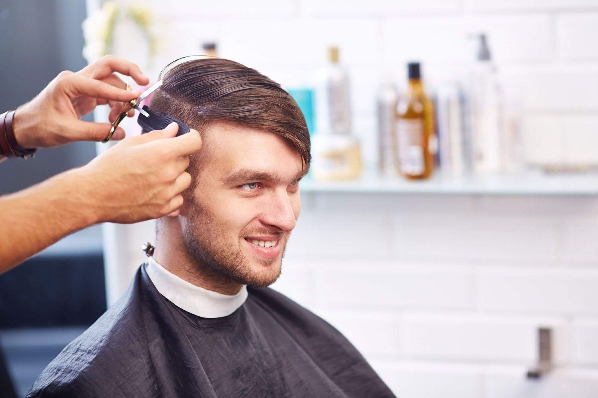 Inn Style Salon Hair Salon And Spa Edmonton Inn Style Salon Mens Hair Salon Mens Hairstyles Short Oil Treatment For Hair