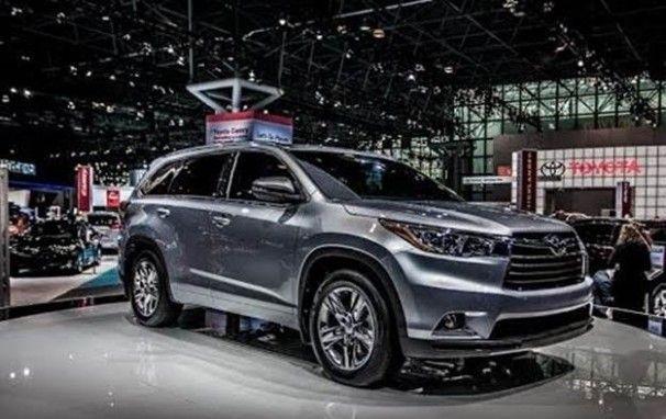 2020 Toyota Highlander Limited Platinum Redesign