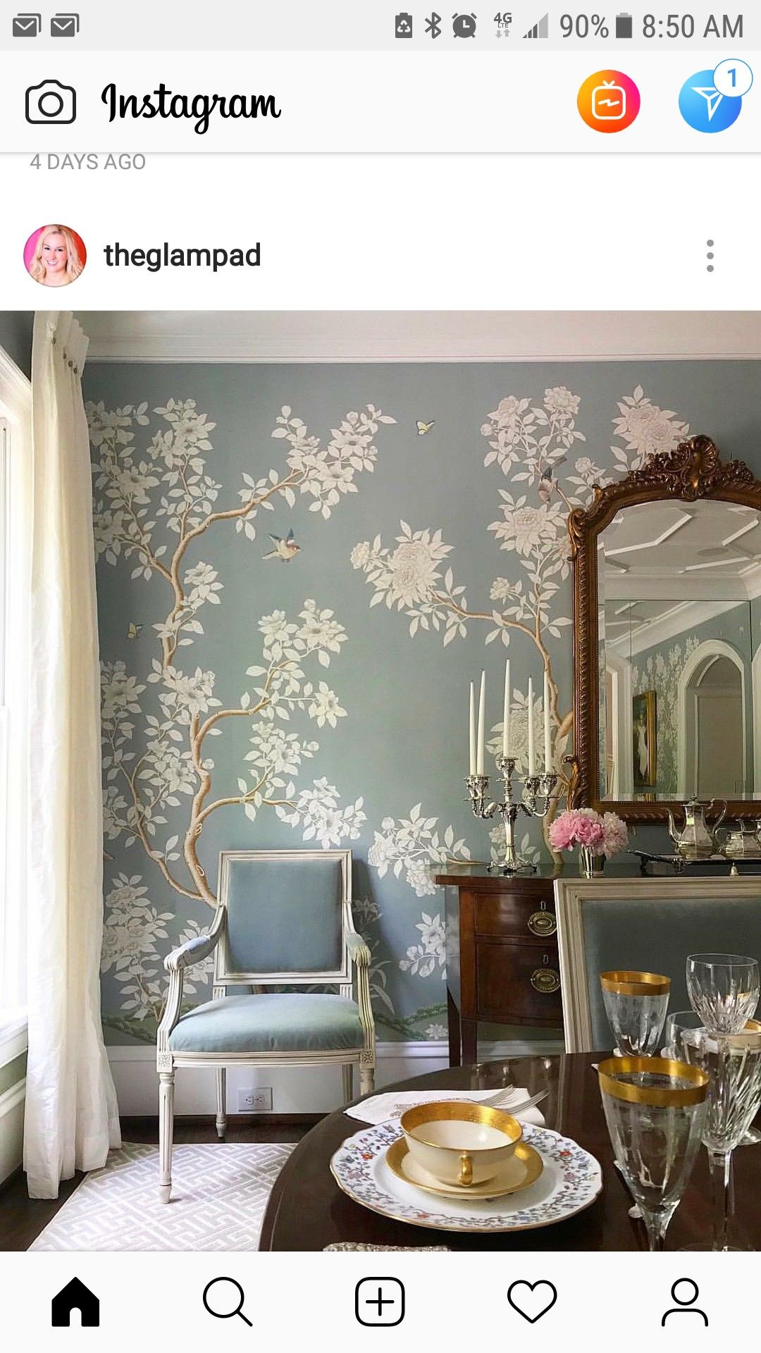Pin by Jodi Gillespie on Wallpaper   Dining room wallpaper ...