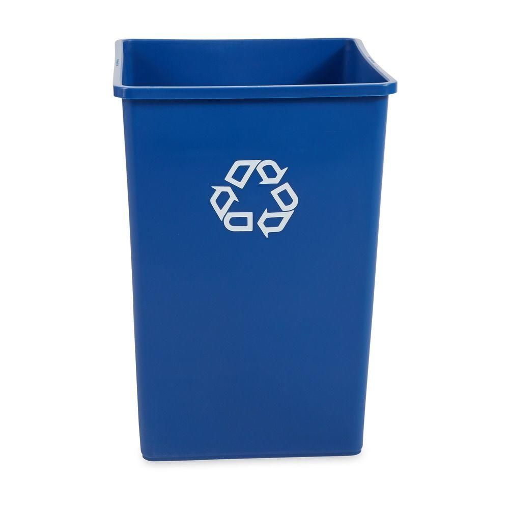 Untouchable gal blue square recycling container products
