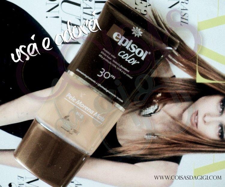 Usei e Amei: Episol Color Morena Mais FPS 30 Mantecorp Skincare