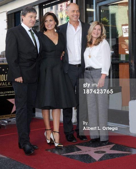 Actress Mariska Hargitay and siblings Mickey Hargitay Jr ...