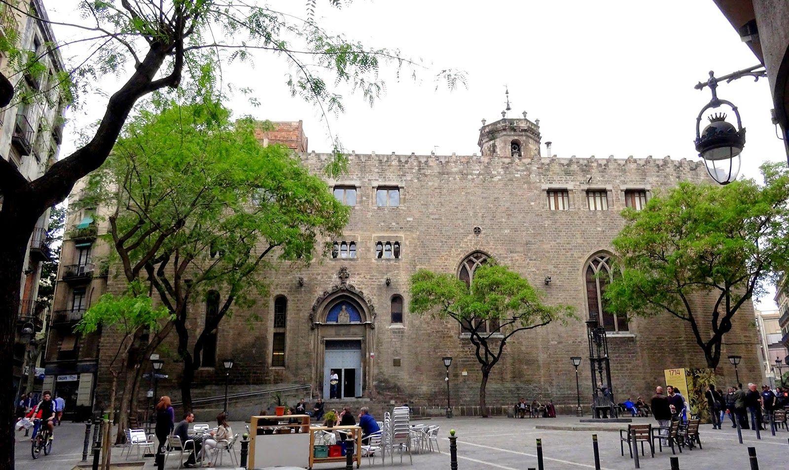 Sant Pere de les Puelles - #santpere #plazas #barcelona ...