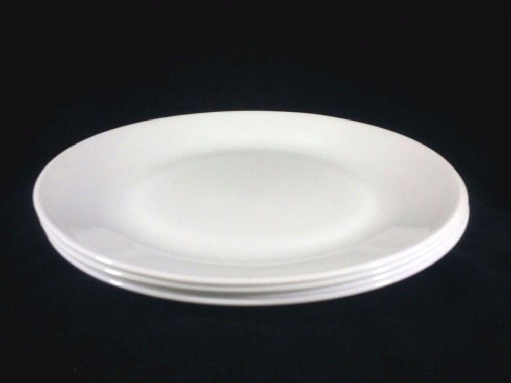 Corelle Winter Frost White Dinner Plates Set of 4 10 1/4 Inches #Corelle # DinnerPlates & Corelle Winter Frost White Dinner Plates Set of 4 10 1/4 Inches ...
