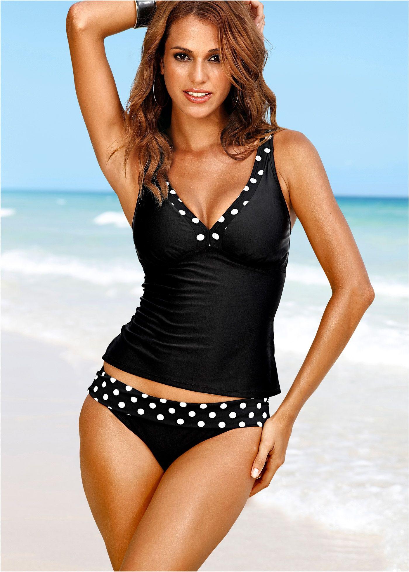 am besten einkaufen billiger Verkauf damen Tankini (2-tlg. Set) schwarz - bpc selection jetzt im Online ...