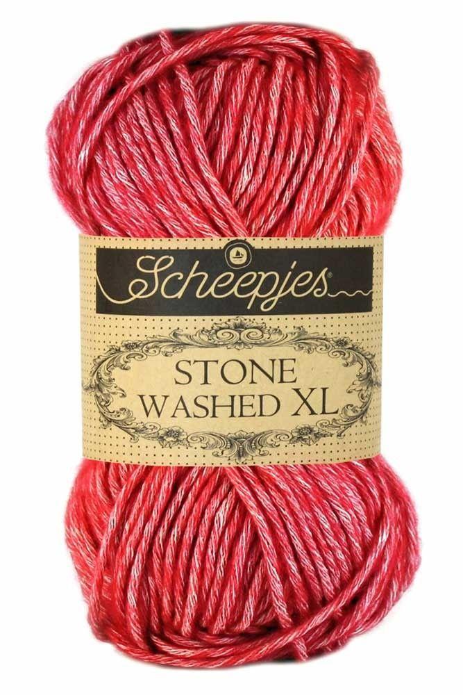 Stone Washed XL - Red Jasper 847