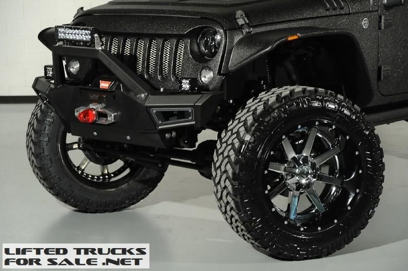 2014 Jeep Wrangler Unlimited Kevlar Coated Lifted (With