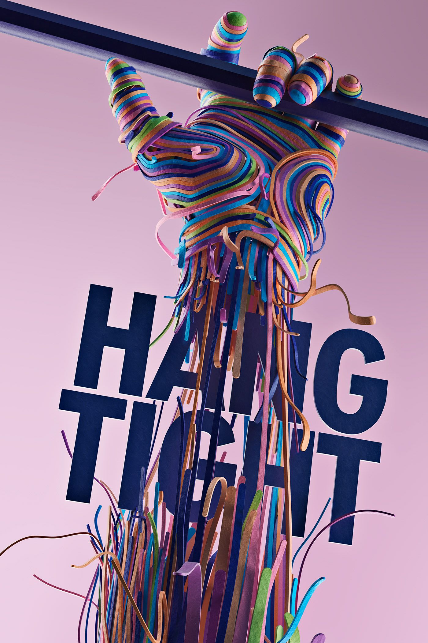 Hang Tight on Behance (With images) Graphic design