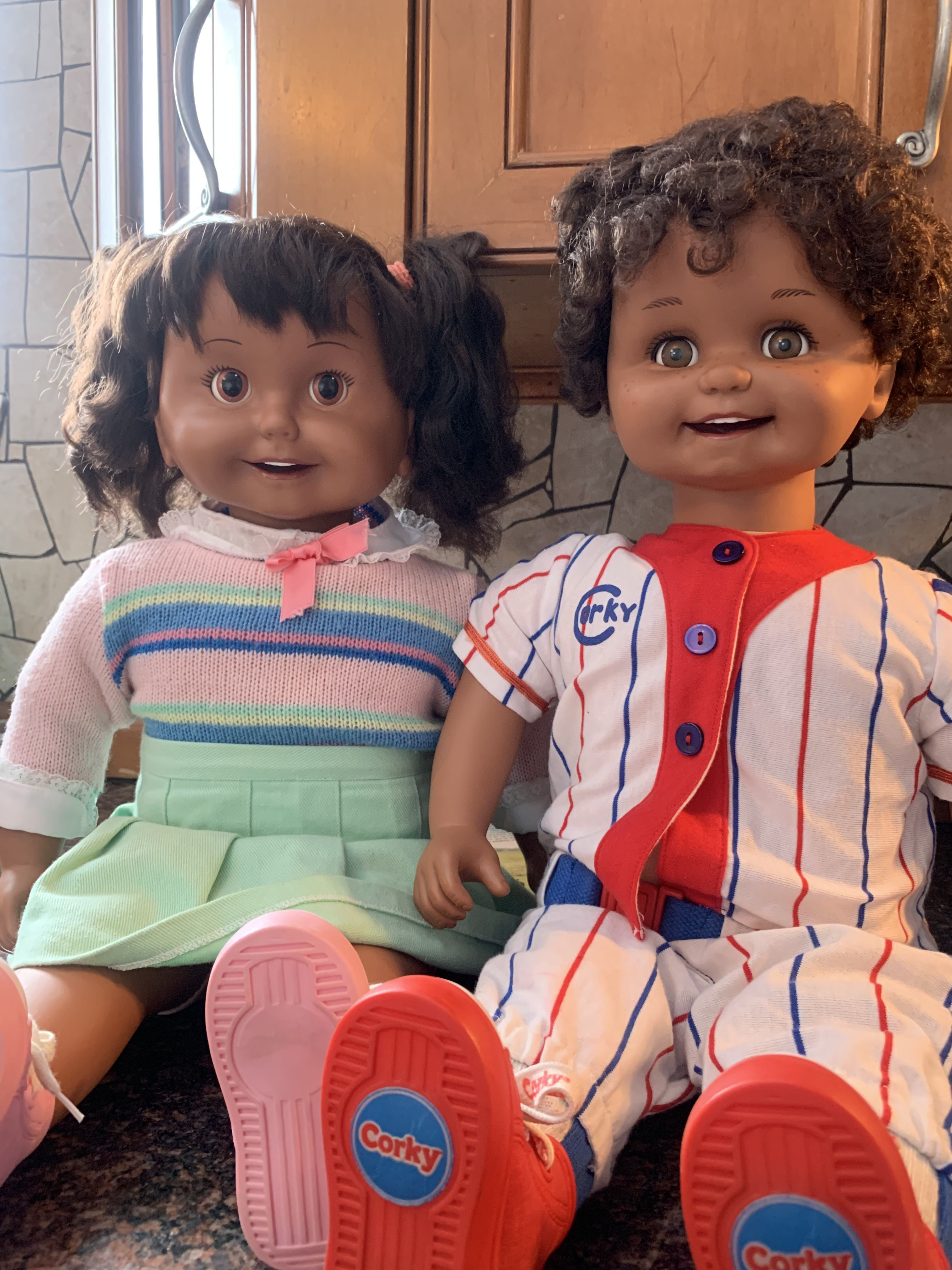 Pin On Playmates Cricket And Corky Vintage Dolls