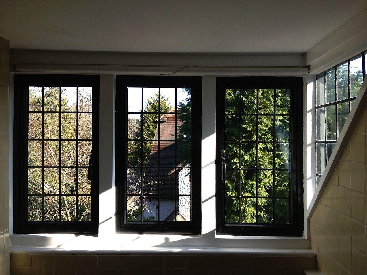 Painting Interior Window Frames Black