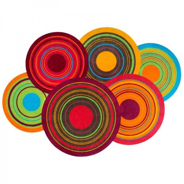 Schmutzfangmatte Wash fussmatte wash decor cosmic colours 70x120 cm bild 2