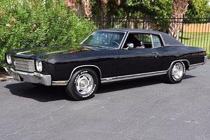 1970 Chevrolet Monte Carlo For Sale 100891960 Chevrolet Monte Carlo Chevrolet Monte Carlo