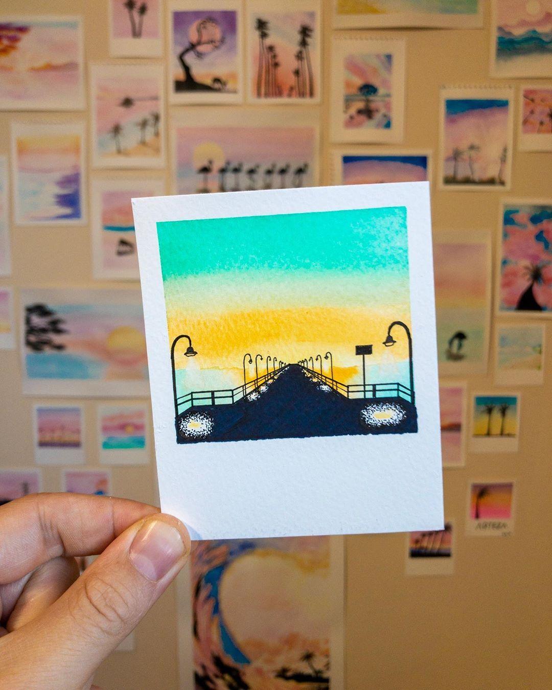 Robert Talbot On Instagram Paintbrush Polaroids 21 7 19 3 5x4