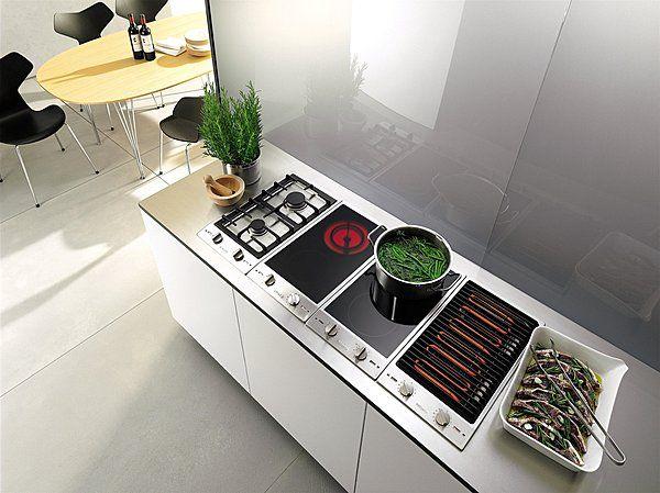 Induction Gaz Wok Vitrocéramique Barbecuegrill Des Dominos à - Cuisiniere induction gaz pour idees de deco de cuisine