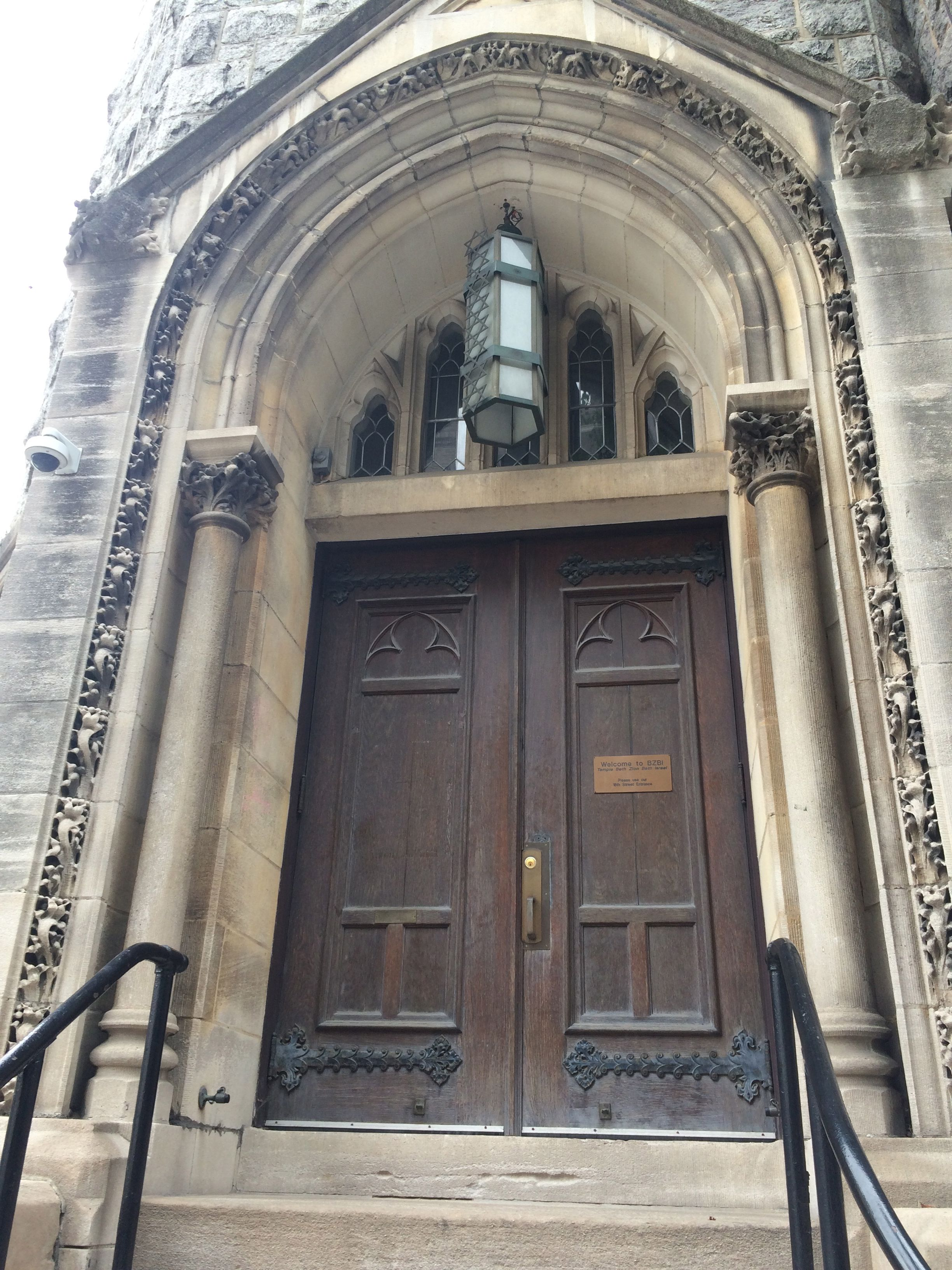 Door-love in Rittenhouse Square, Beth Zion Beth Israel Synagogue