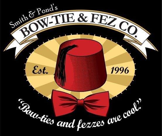 Bow-ties and fezzes are cool!