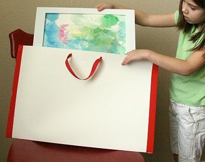 Diy Kids Artwork Portfolio Homeschool Art Kids Artwork
