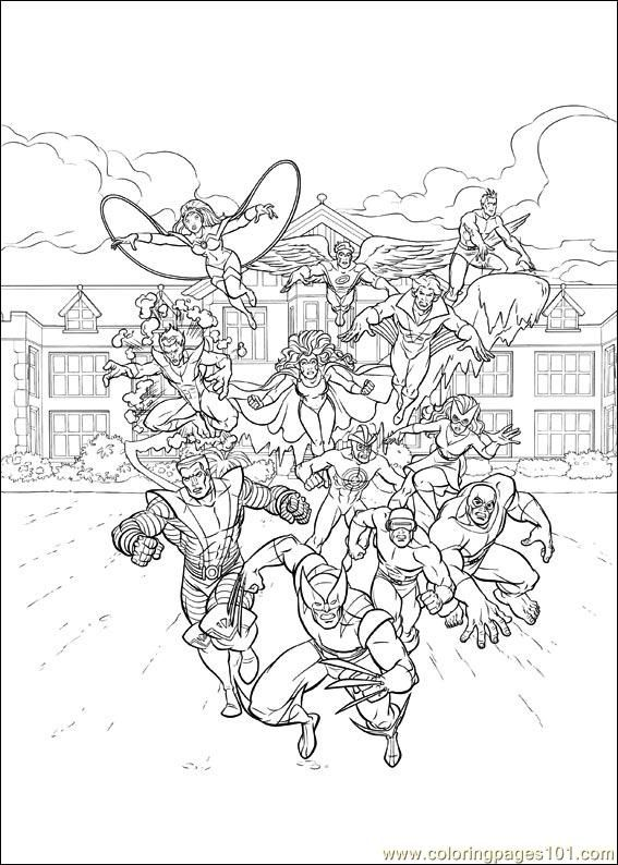 Xmen 24 Coloring Page Free Printable Coloring Pages Coloring Pages Cartoon Coloring Pages Valentine Coloring Pages