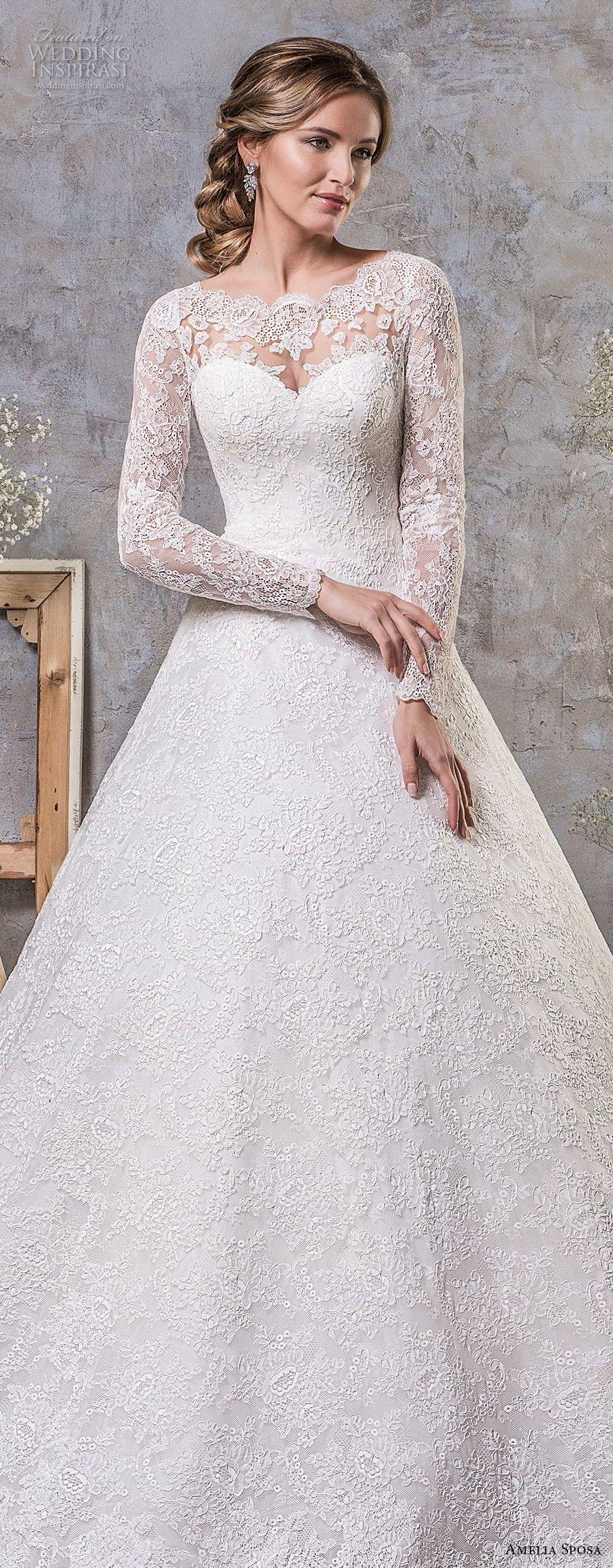 Amelia sposa fall wedding dresses amelia sposa chapel train