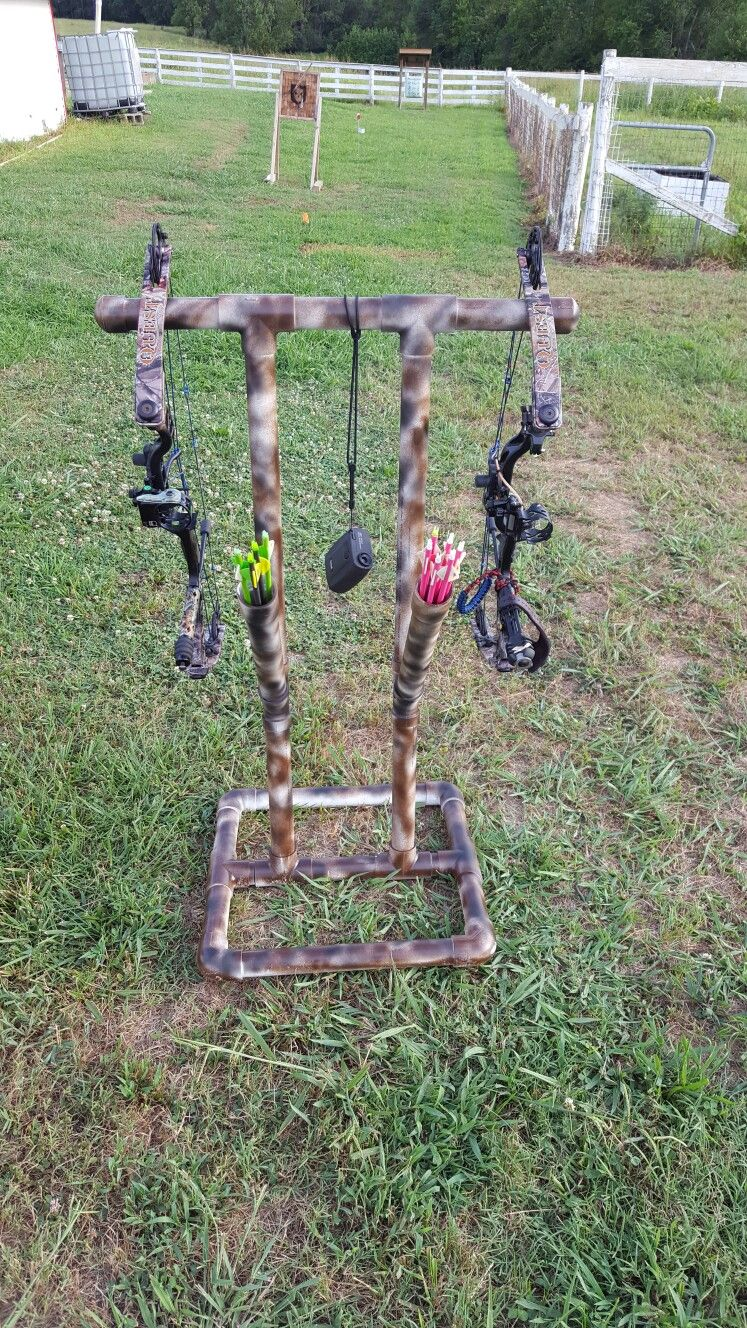 "1.5"" pvc bow stand 