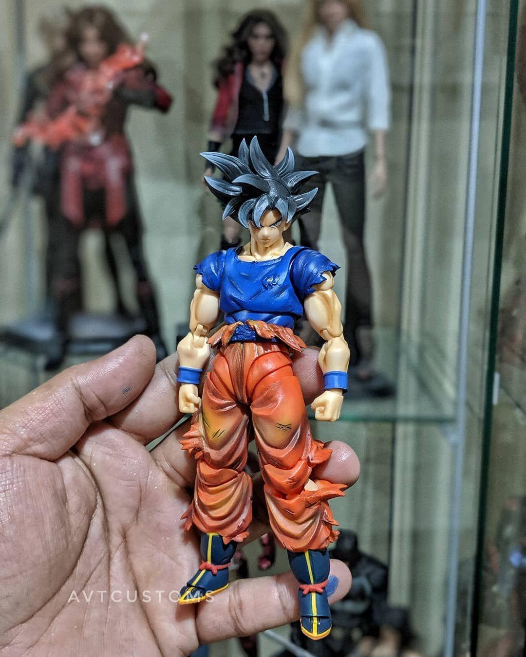 Custom Ultra Instinct Goku Goku Custom Super Saiyan God