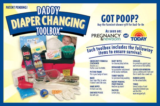 Daddy Diaper Changing Toolbox Review Toolbox Diapers And Funny Gifts