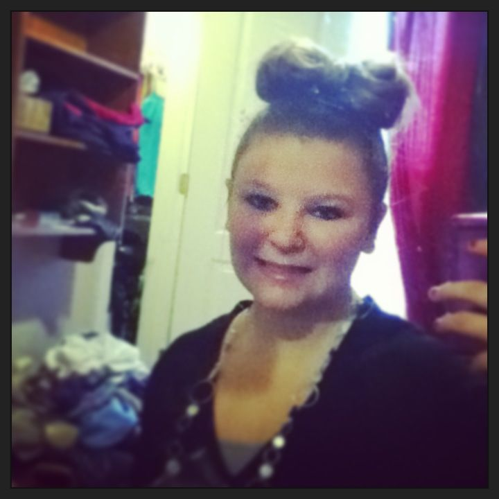 Put you hair in a bow!!