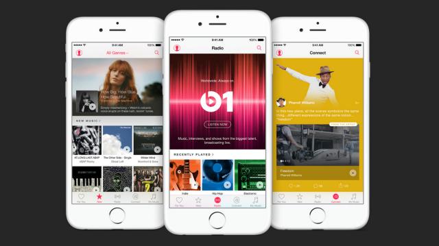 Streaming Showdown Apple Music vs. Spotify vs. Pandora vs