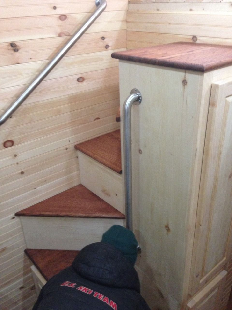 Best Tinyhousedarling Spiral Staircase From Bear 400 x 300