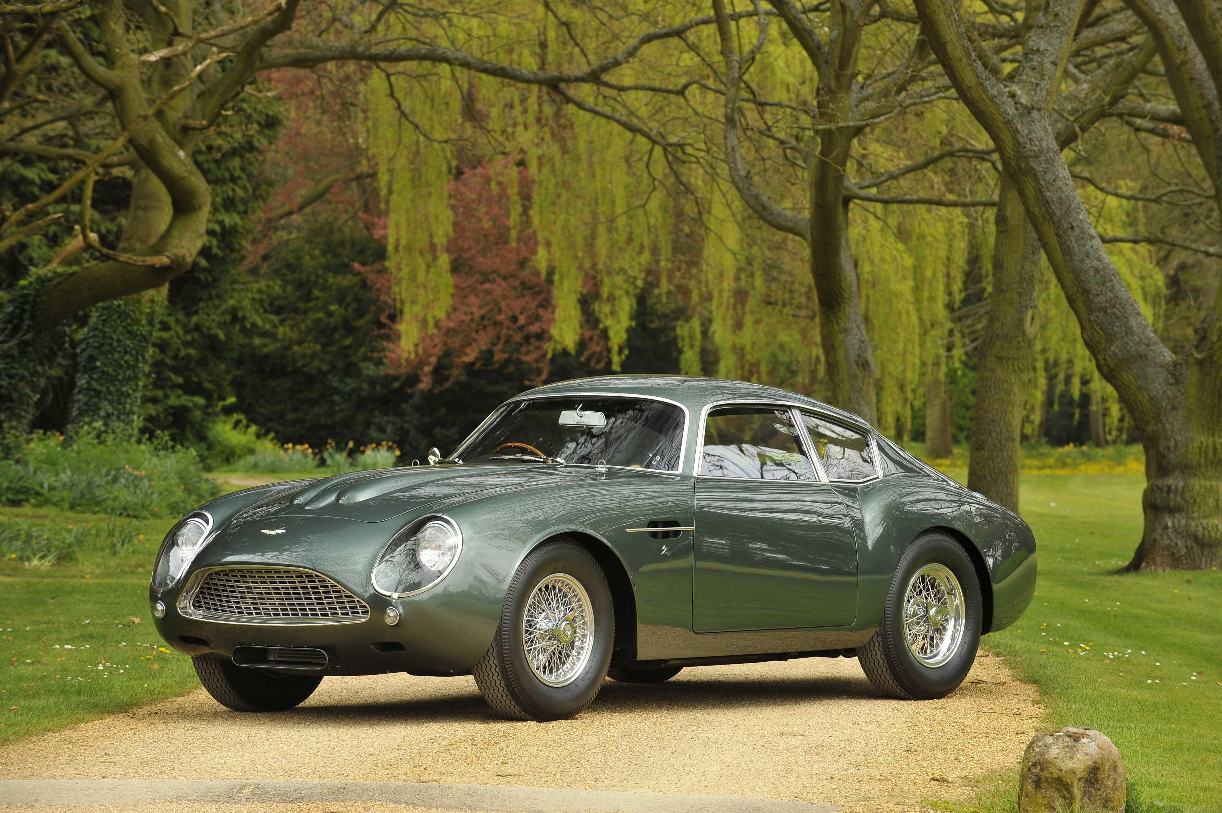 1962 Aston Martin Db4 Gt Zagato Sportwagen Hot
