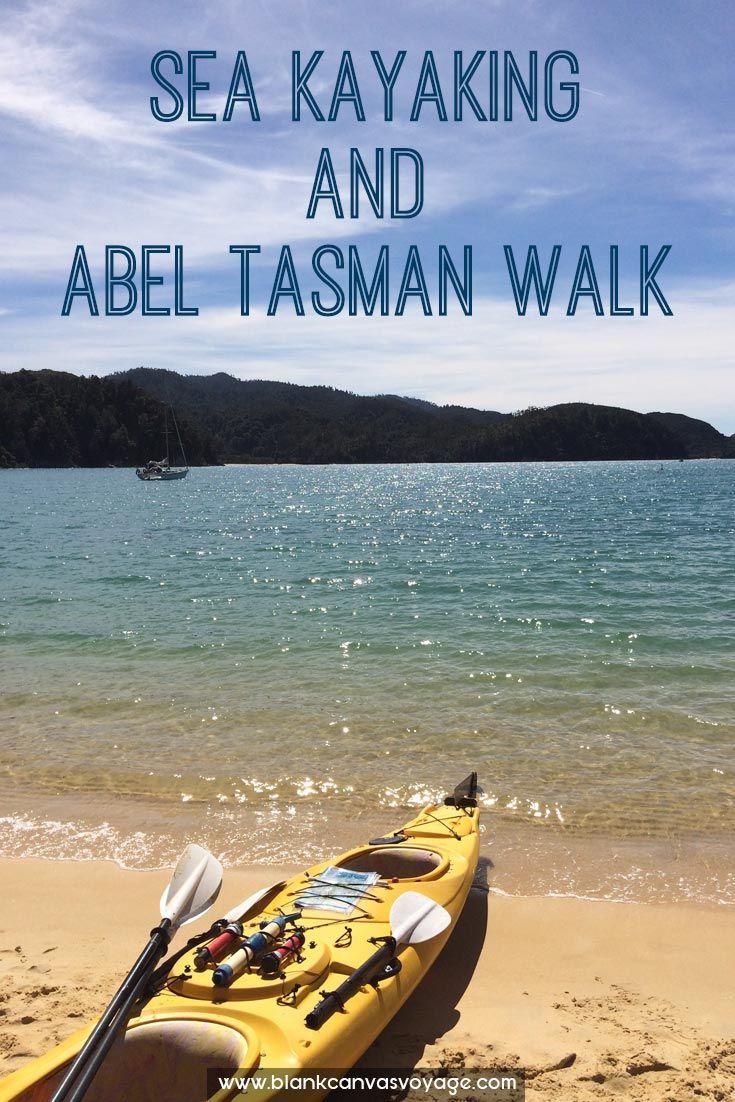 Spending the morning Sea Kayaking and walking through Abel Tasman. Read more: http://blankcanvasvoyage.com/new-zealand/sea-kayaking-abel-tasman-walk/