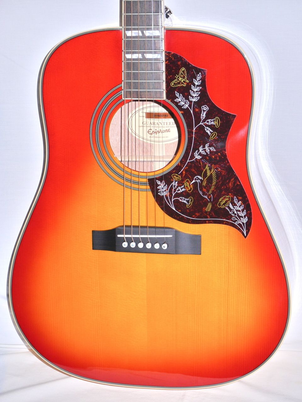 Indian Creek Guitars Epiphone Hummingbird Pro Acoustic