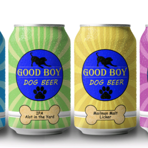 Meet Good Boy A Line Of Beer Just For Dogs Beer Boy Dog