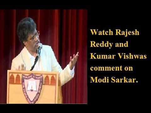 Latest Kumar Vishwas with Rajesh Reddy New Mushaira on Modi
