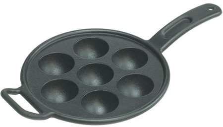 Photo of Lodge Aebleskiver Pan Seasoned Cast Iron, P7A3, with assist handle – Walmart.com