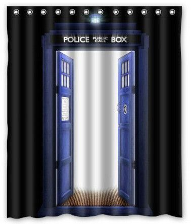Doctor Who Shower Curtain Collection B