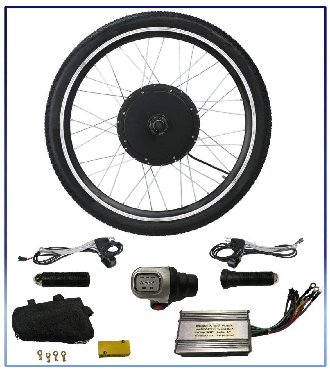How To Install An Electric Bike Hub Motor Kit Phoenix Ii