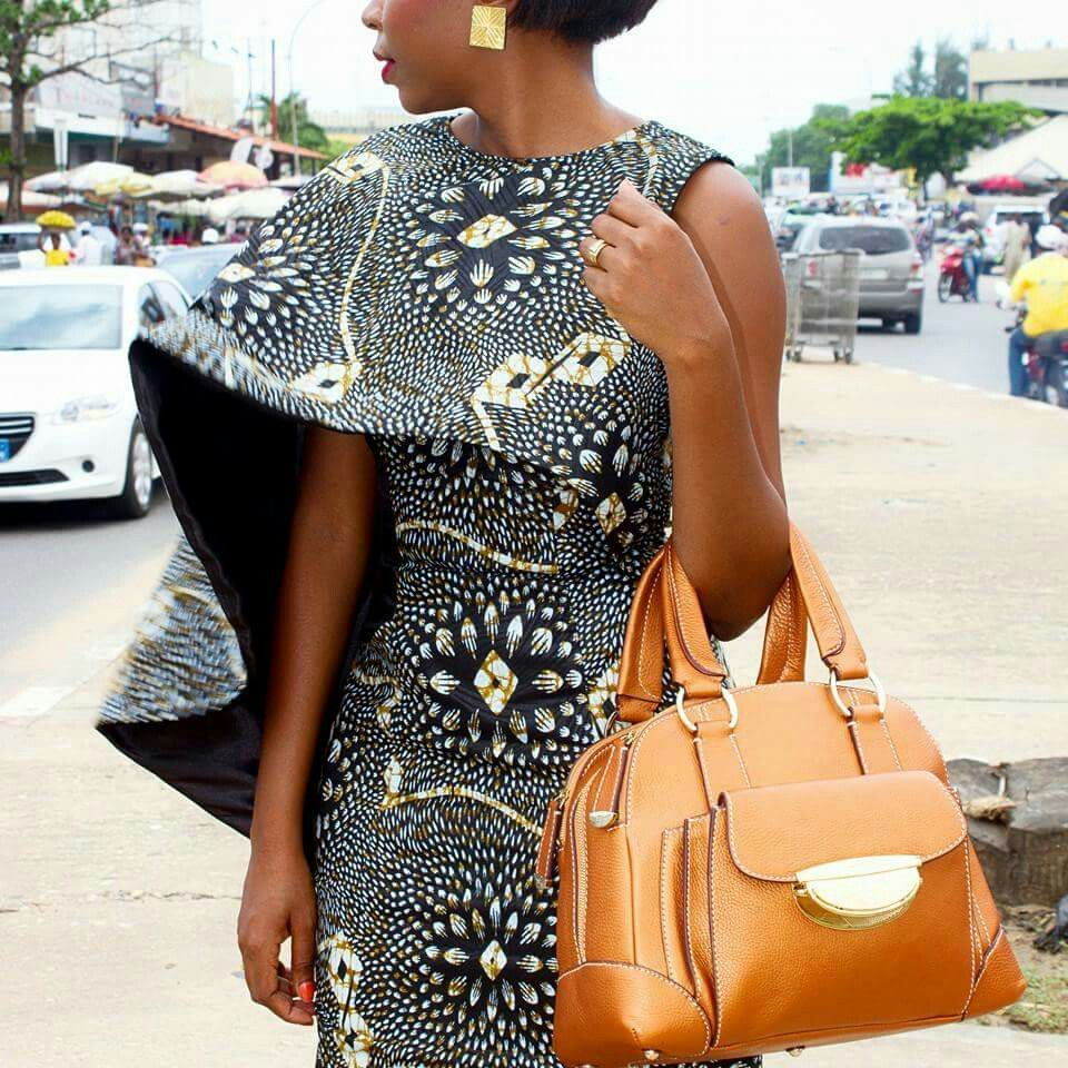 Sophisticated caplet moda pinterest africans african fashion